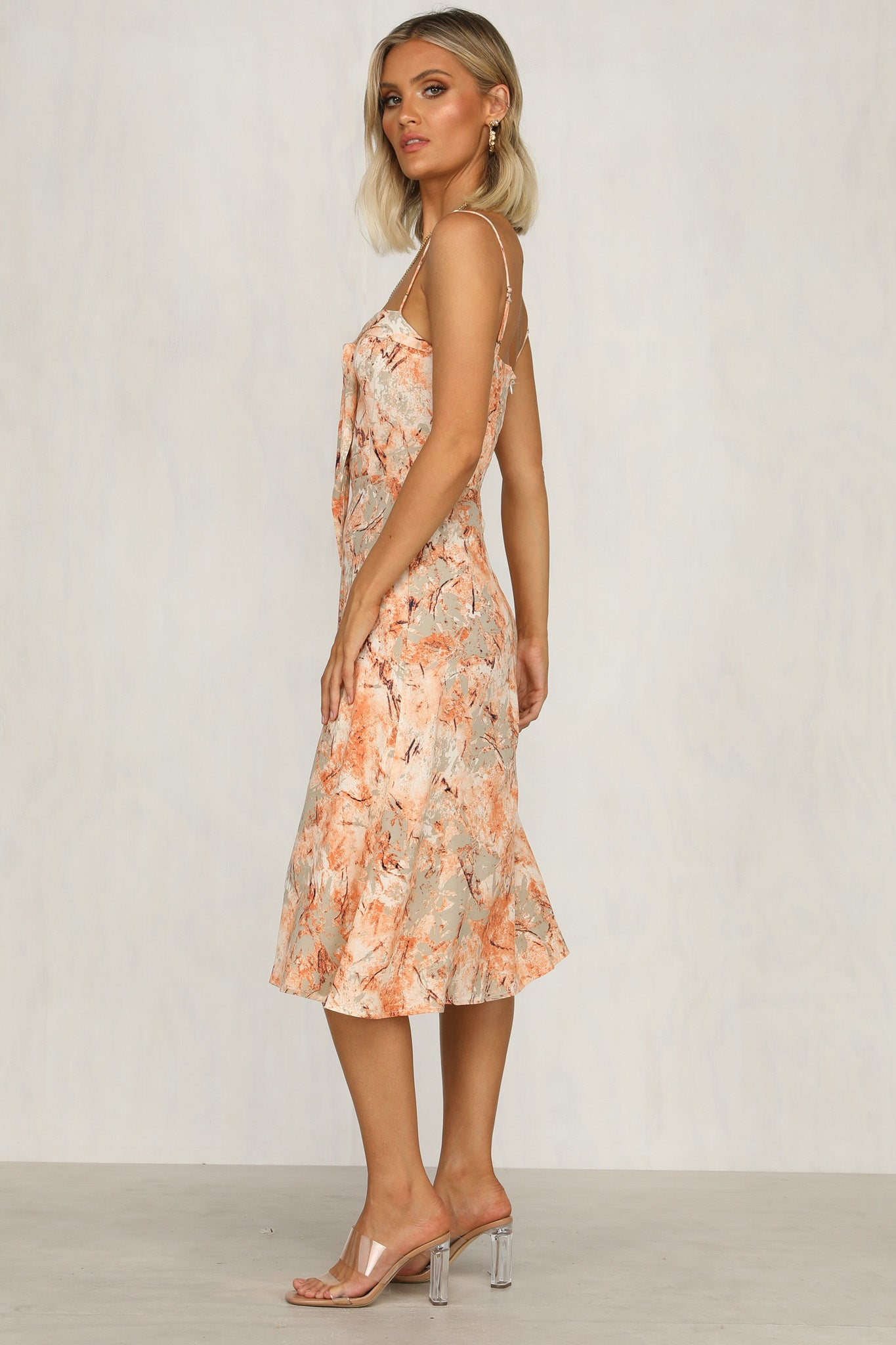 Best Friends Dress (Peach)