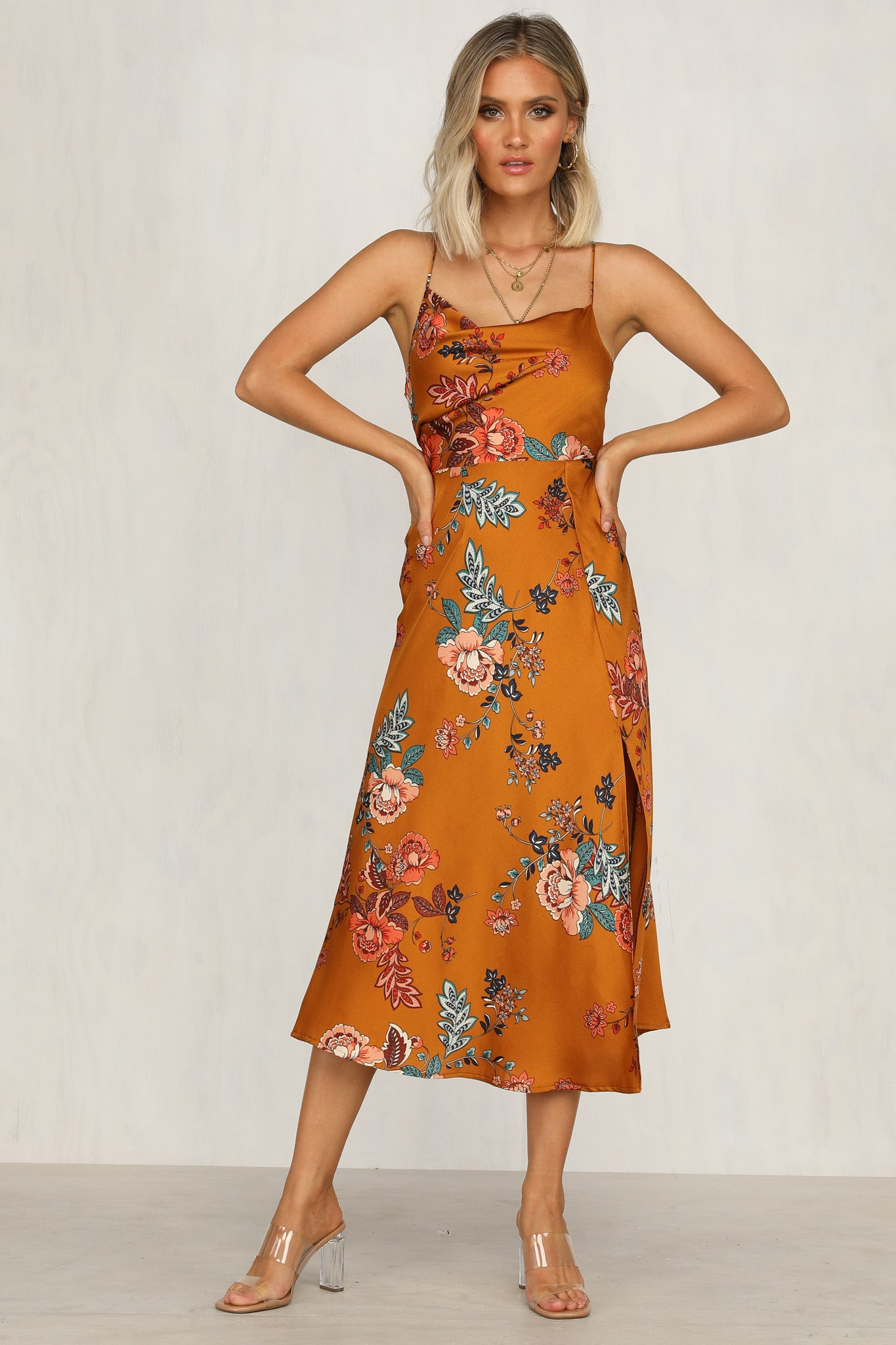 Road Less Travelled Dress (Rust)
