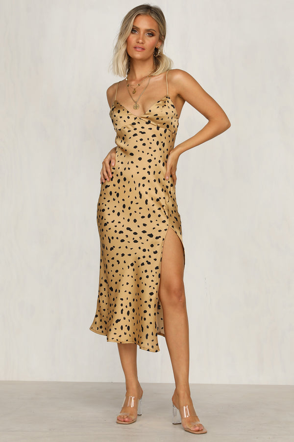 Summer Of Love Dress (Leopard)