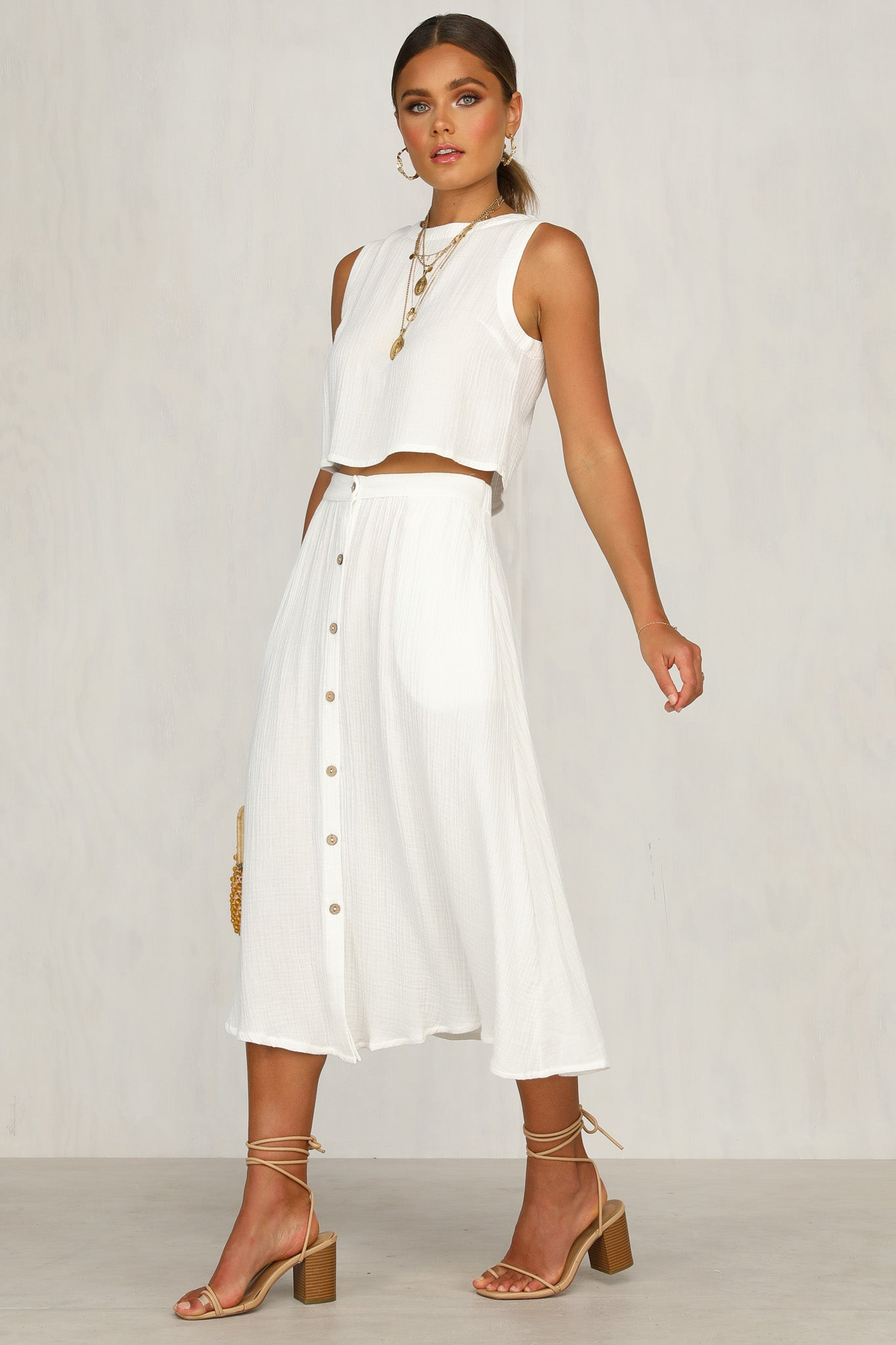 Lost Dreams Skirt (White)
