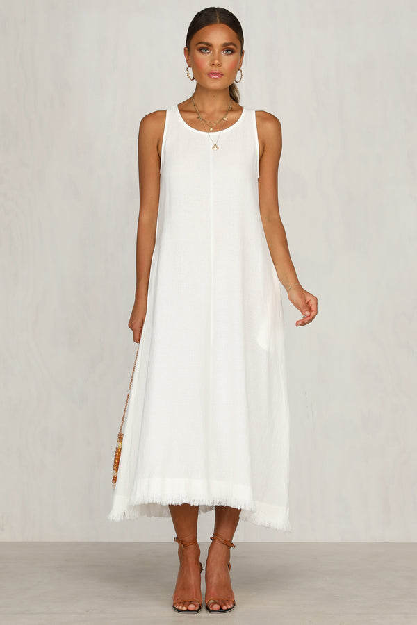 Solitude Dress (White)