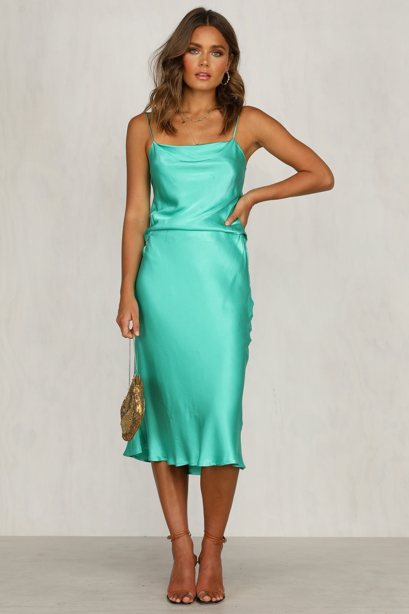 Sofia Dress (Jade)