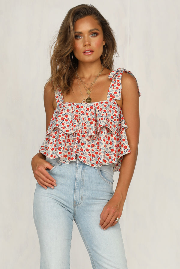 Red Roses Top