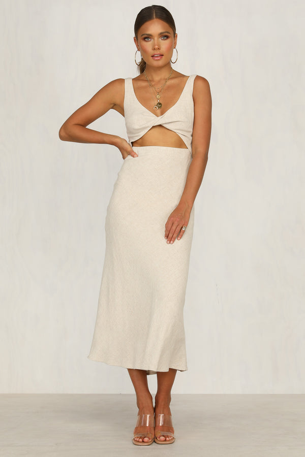 Search And Find Dress (Beige)