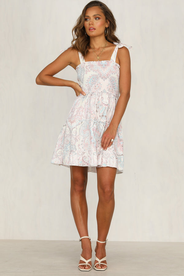 Next Question Dress (Pink)