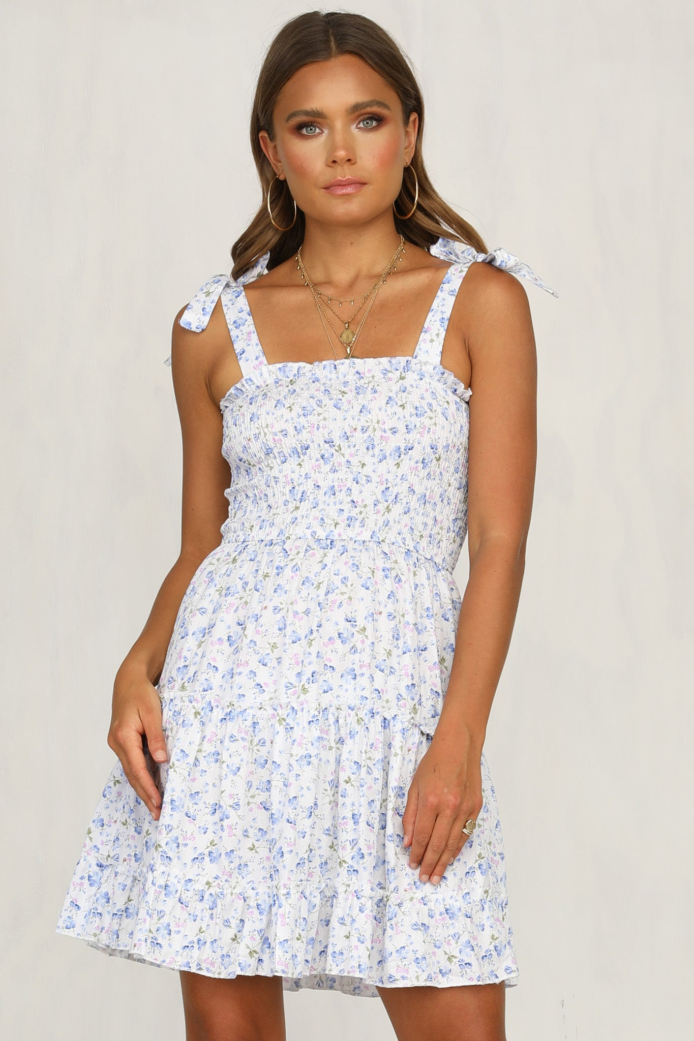 Next Question Dress (Blue)