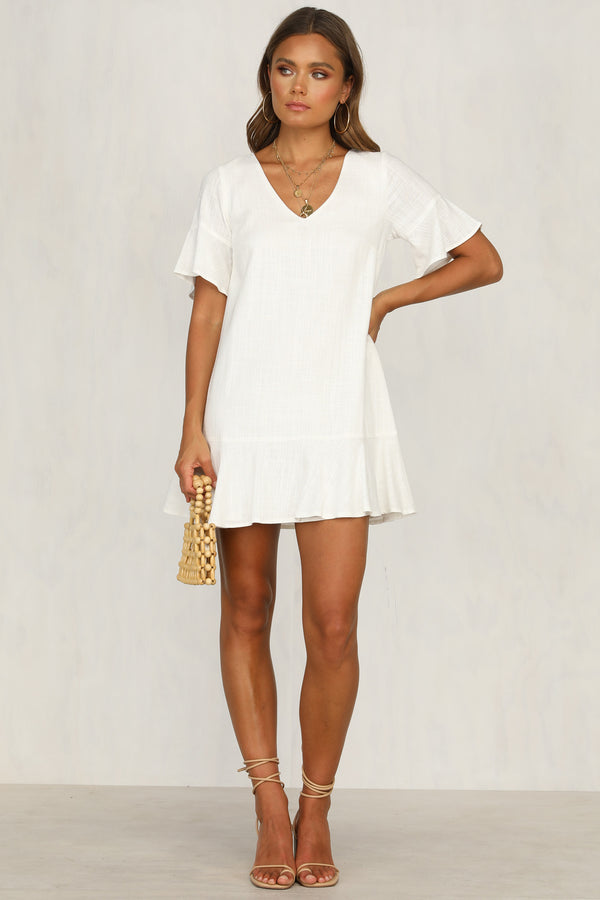 Channing Dress (White)