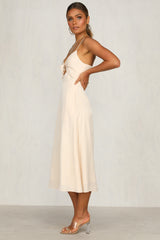 Jeanie Dress (Blush)