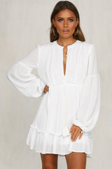 Elyse Dress (White)