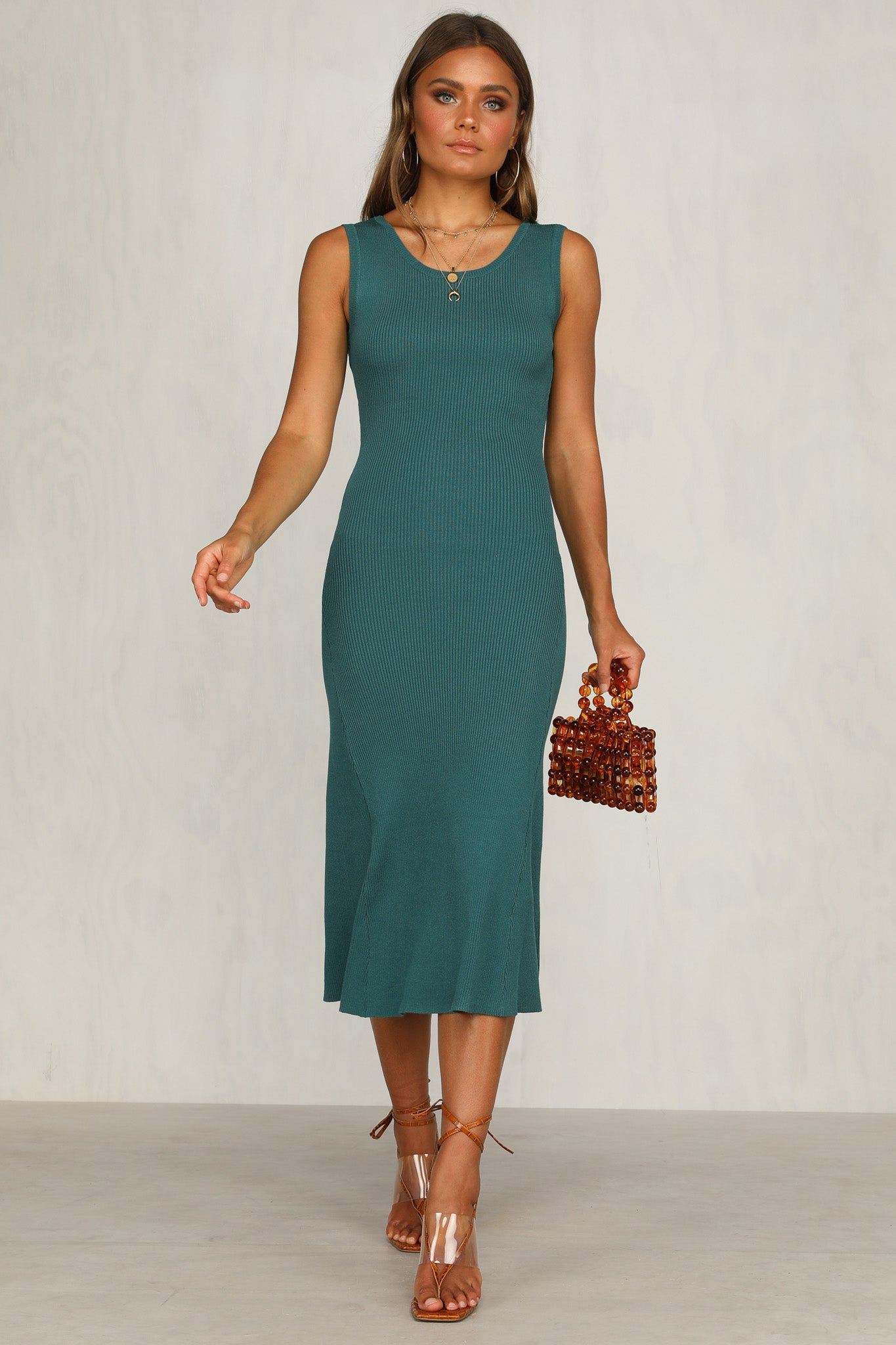 Mercy Dress (Teal)