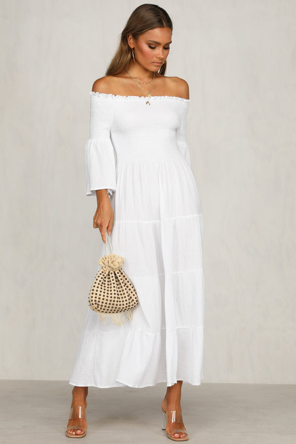 Exhalation Dress (White)