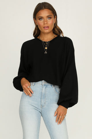 Chantelle Knit Top (Black)