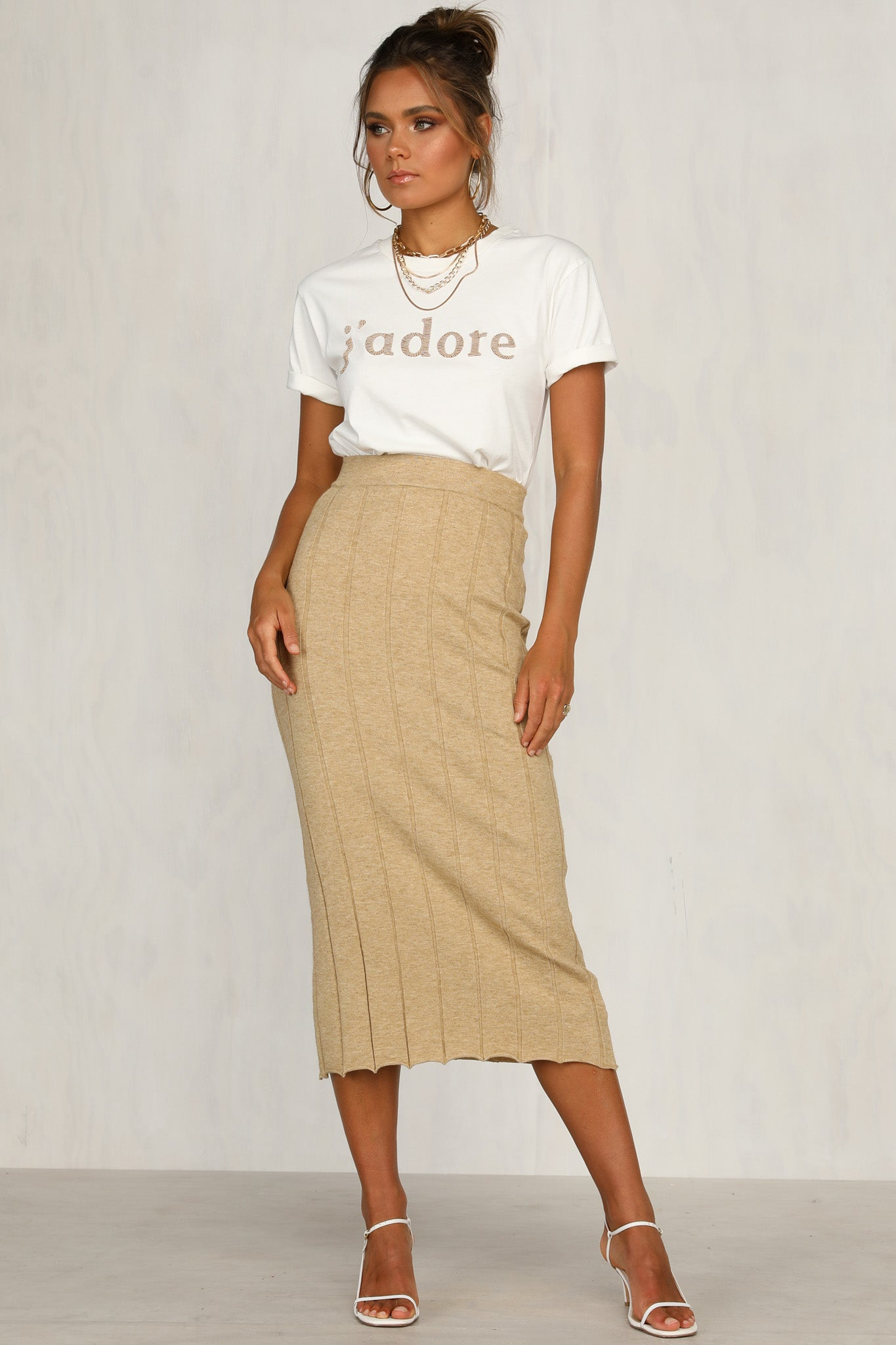 Harvest Skirt (Caramel)