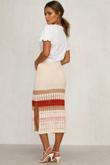 Panorama Knit Skirt