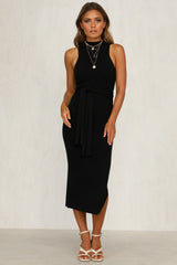 Night Whisper Dress (Black)