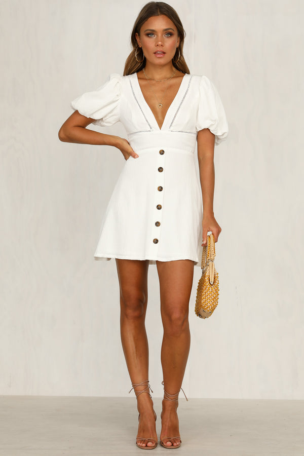 Summer Liason Dress (White)