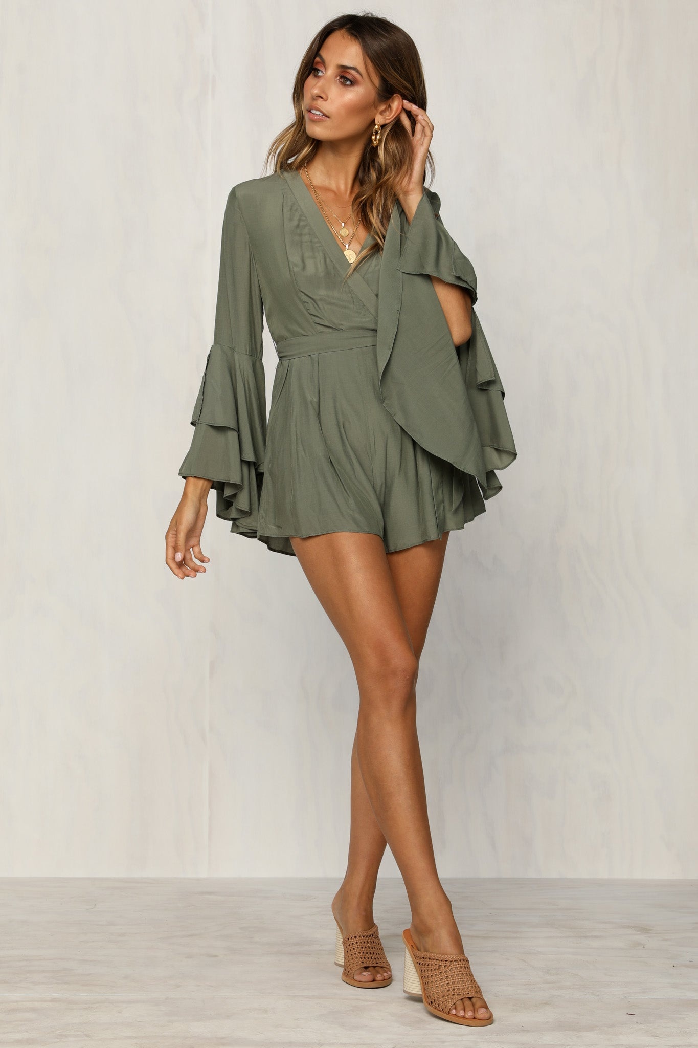 Bad At Love Playsuit