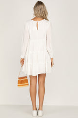 Take My Time Dress (White)