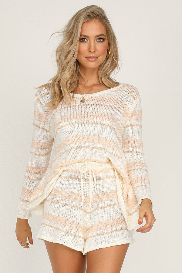 Sweet Things Knit Set (Peach)