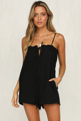 La Bamba Playsuit (Black)