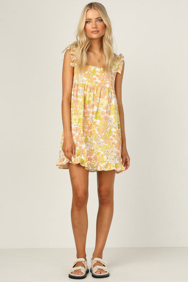 Izzy Dress (Yellow)