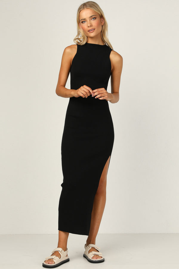 Dana Maxi Dress (Black)