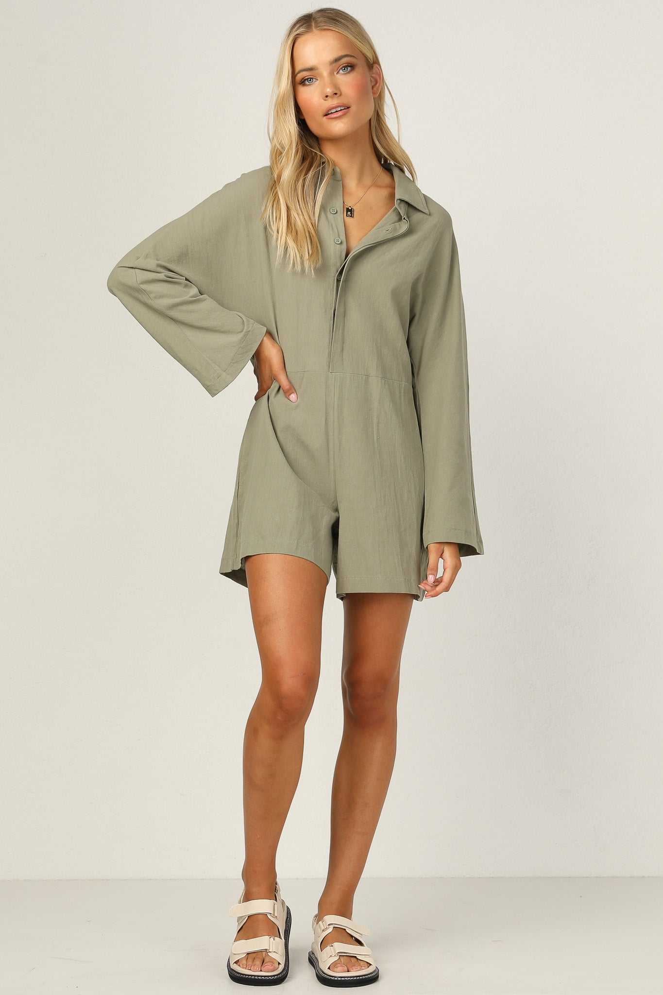 Atlas Playsuit (Sage)
