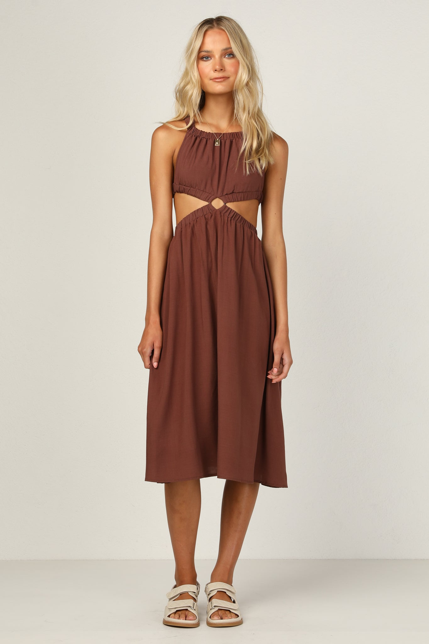 Jordan Dress (Chocolate)