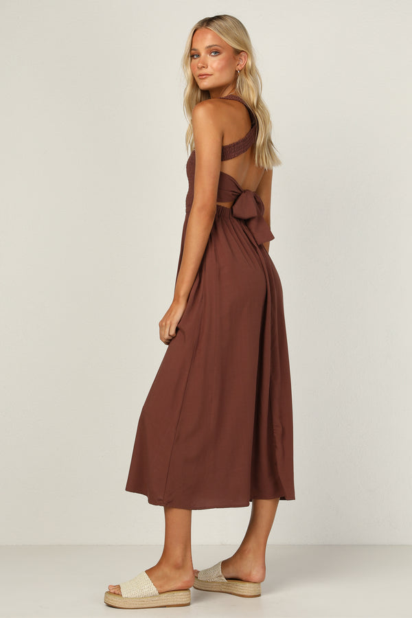 Millie Dress (Chocolate)