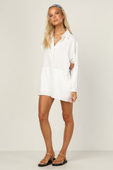Bree Playsuit (White)
