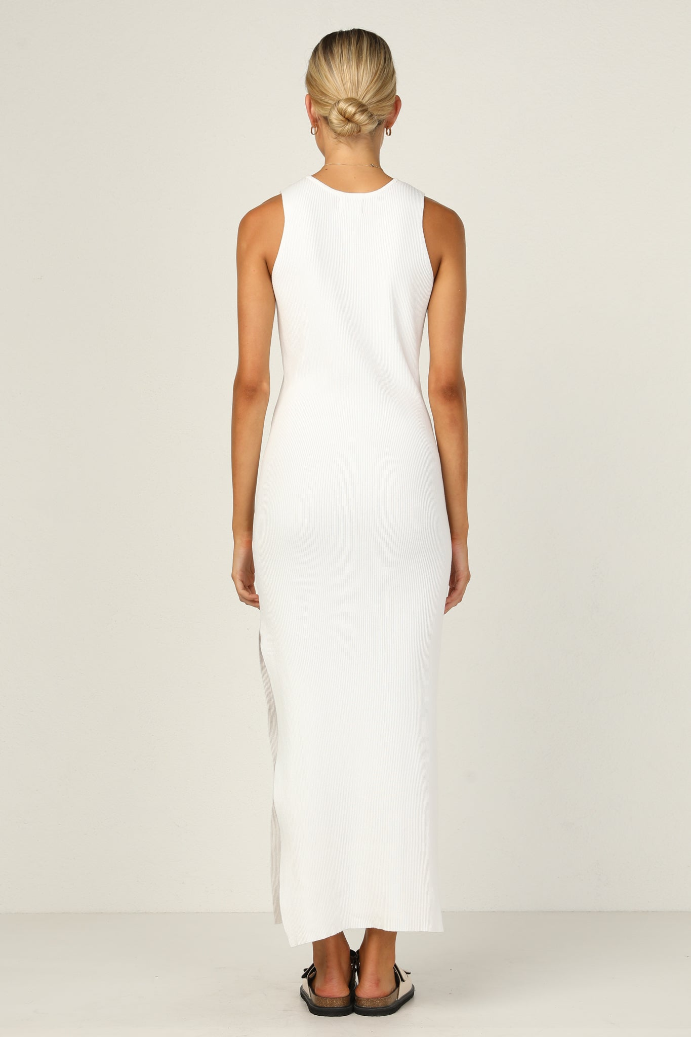 Dana Maxi Dress (White)