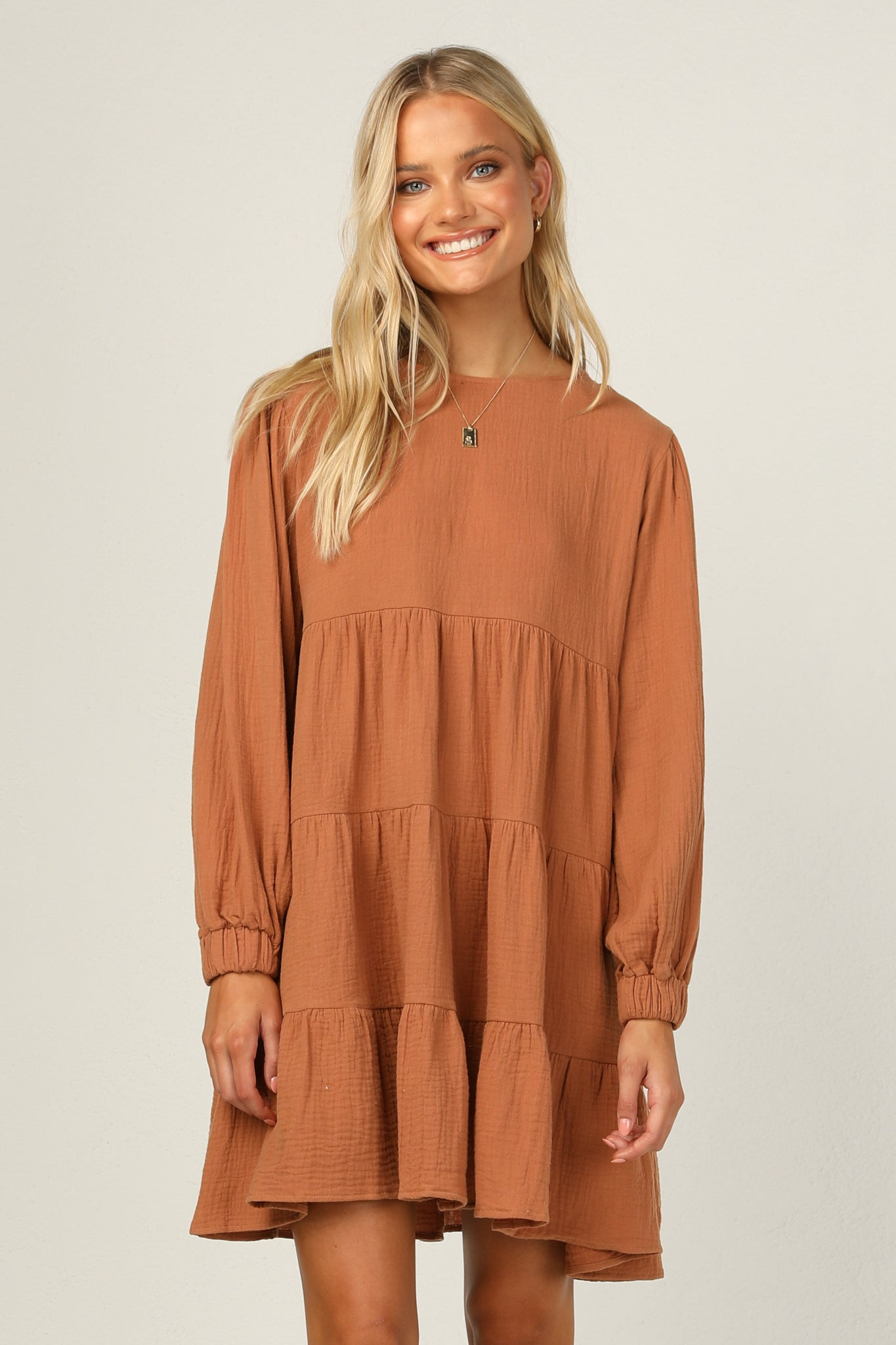 Lorna Dress (Tan)