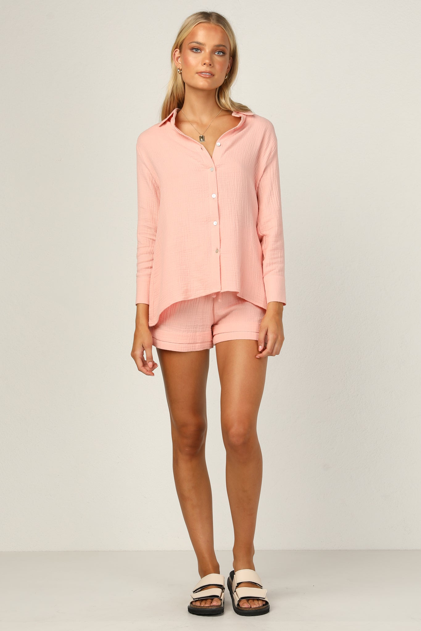 Cool Breeze Top (Pink)