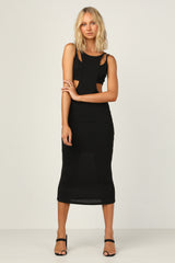Monika Dress (Black)