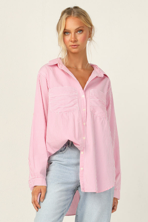 Shae Top (Pink)