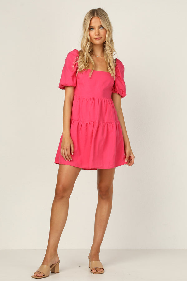 Alejandra Dress (Pink)