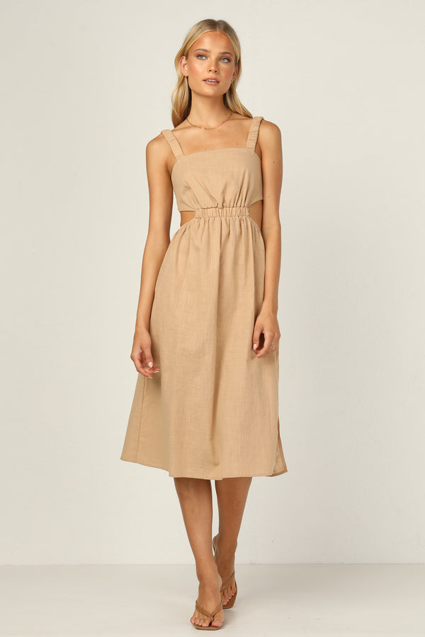 Riviera Dress (Beige)