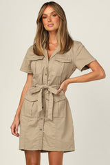 Rowan Dress (Khaki)
