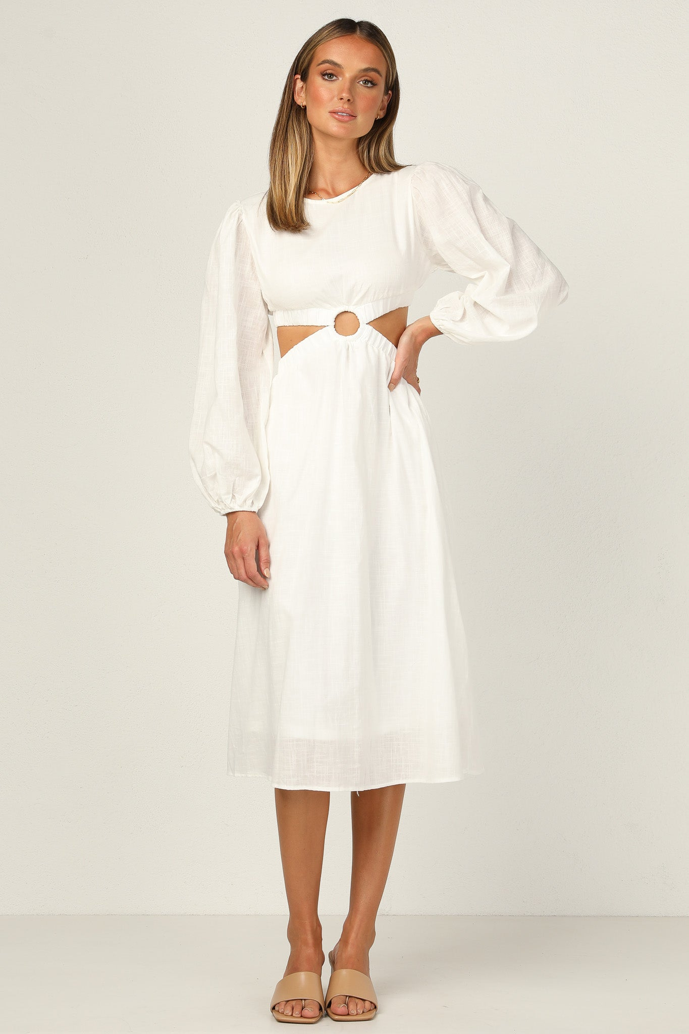 Trixie Dress (White)