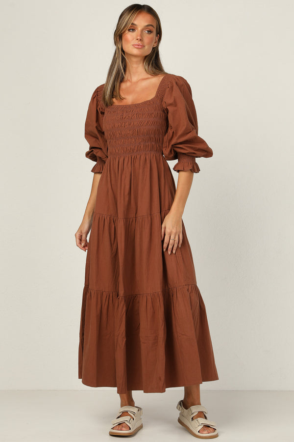 Vida Dress (Chocolate)