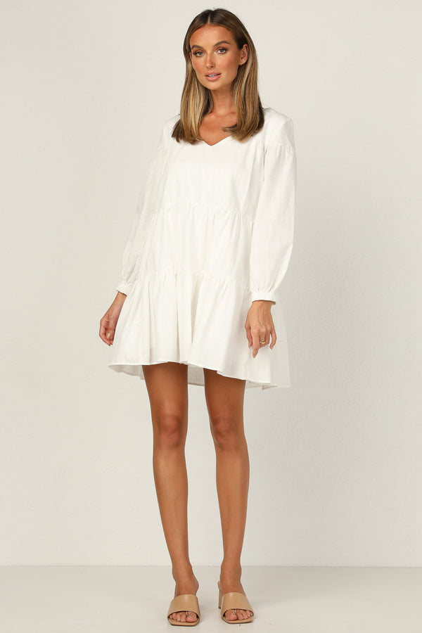 Lucinda Dress (White)