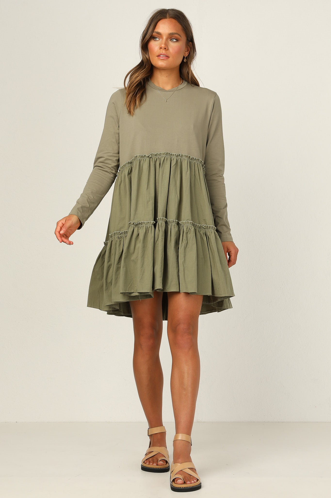 Milana Dress (Khaki)