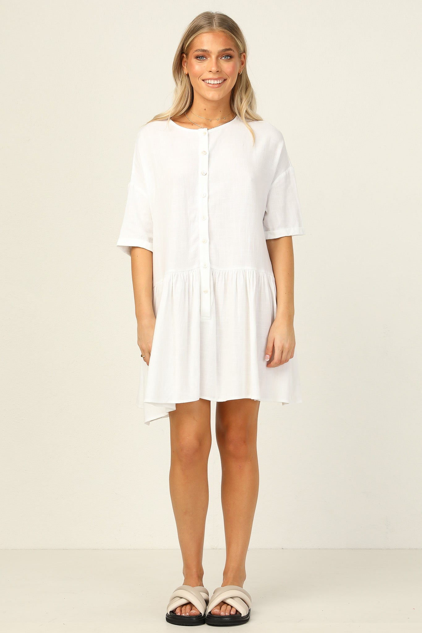 Tabitha Dress (White)