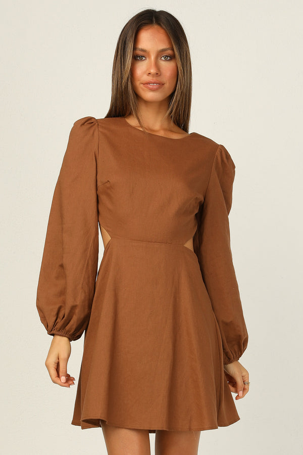Soleil Dress (Chocolate)
