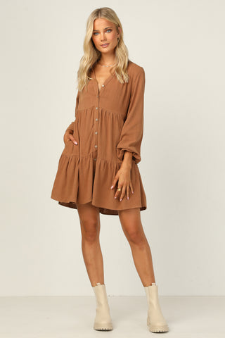 Anais Dress (Chocolate)