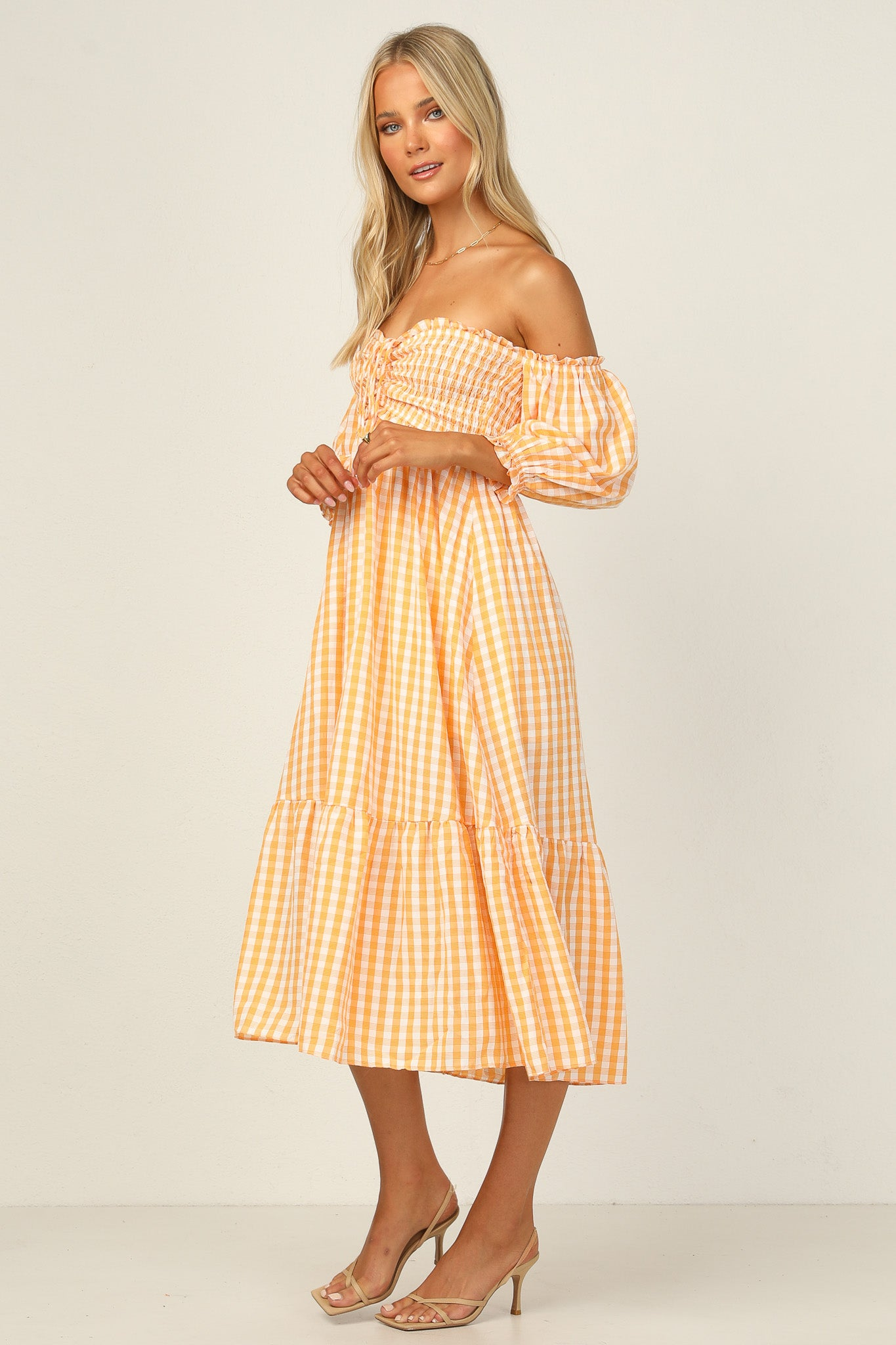 Anya Dress (Orange)