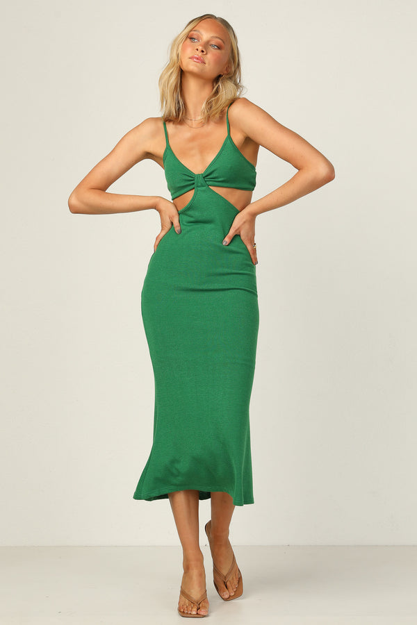 Carmen Dress (Green)