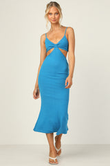 Carmen Dress (Blue)