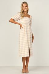 Jezabel Dress (Beige)