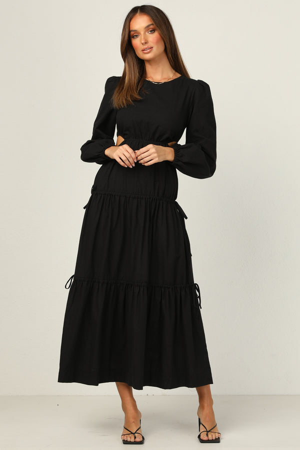 Avaline Dress (Black)